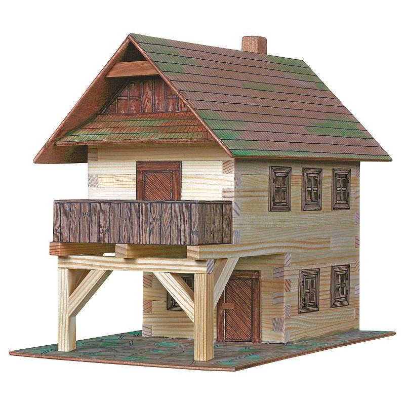 Maquette maison ech 1 32 n 14 au coeur 2 for Maquette maison a construire