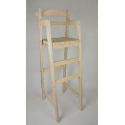 """Chaise haute en bois """"Super Dahut"""""""
