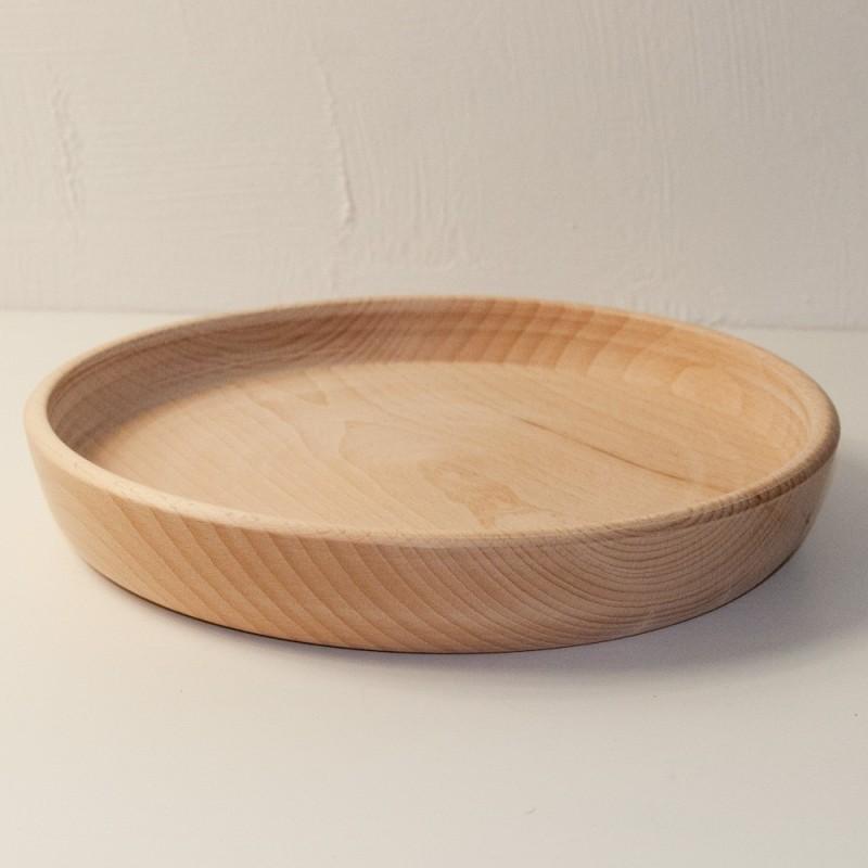 Assiette en bois